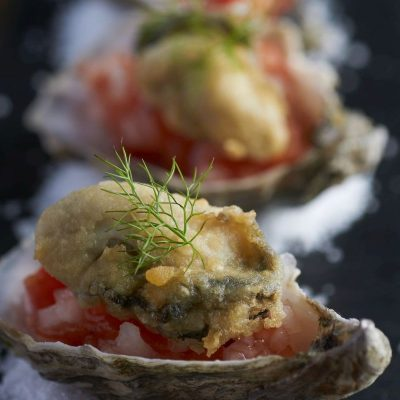 Sparkling Oysters